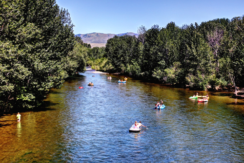 Floating the Boise River 2